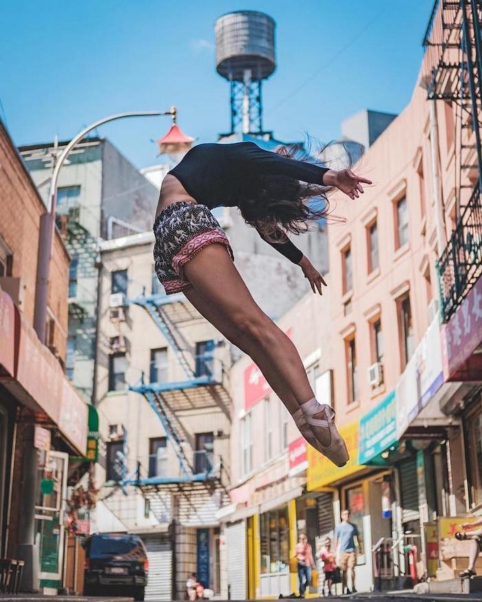 New York balerinleri foto