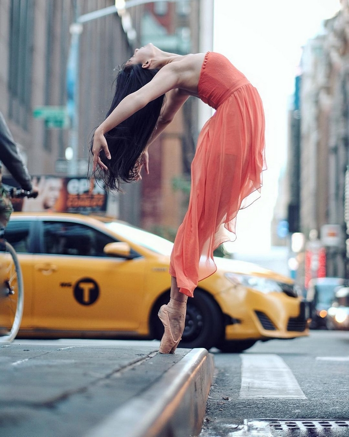 balerin fotoğrafı New York