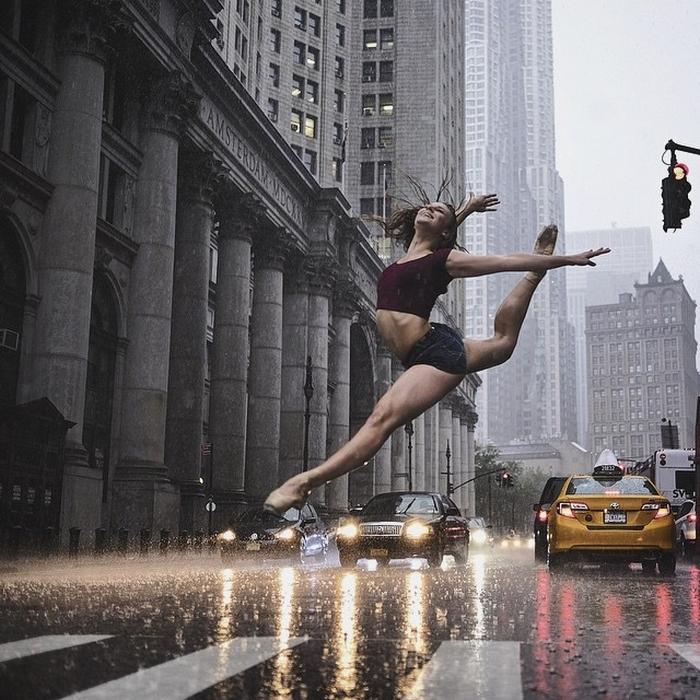Omar Roble balerin fotoğrafı projesi New York