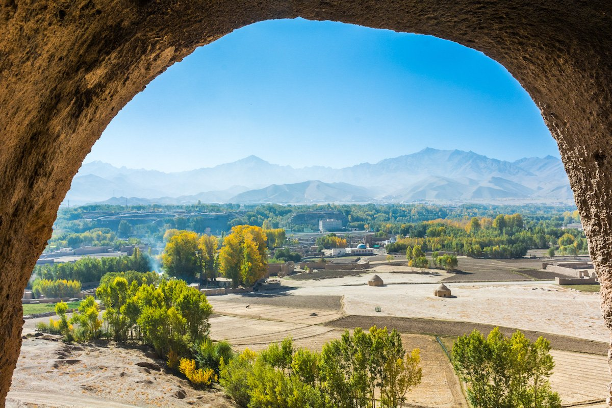 explore local sites in bamiyan afghanistan