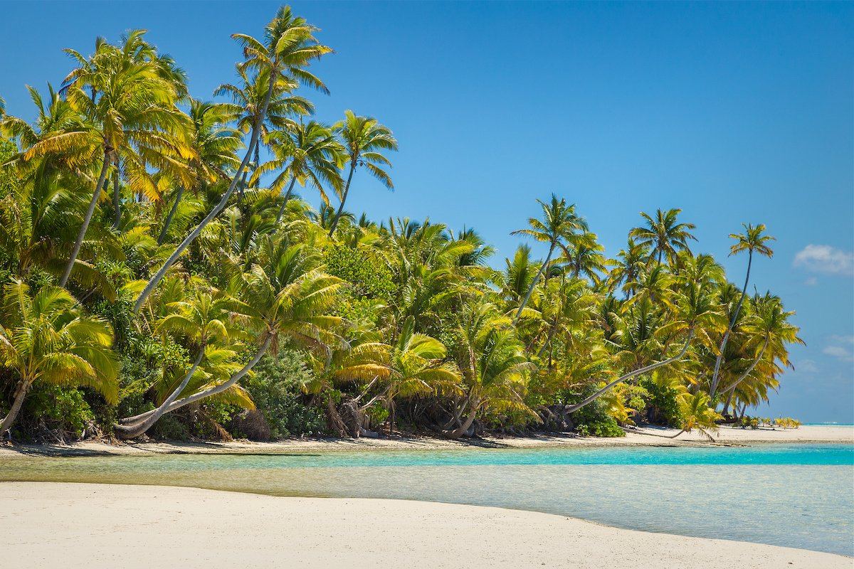 take a robinson crusoe esque excursion to tapuaetai in the cook islands