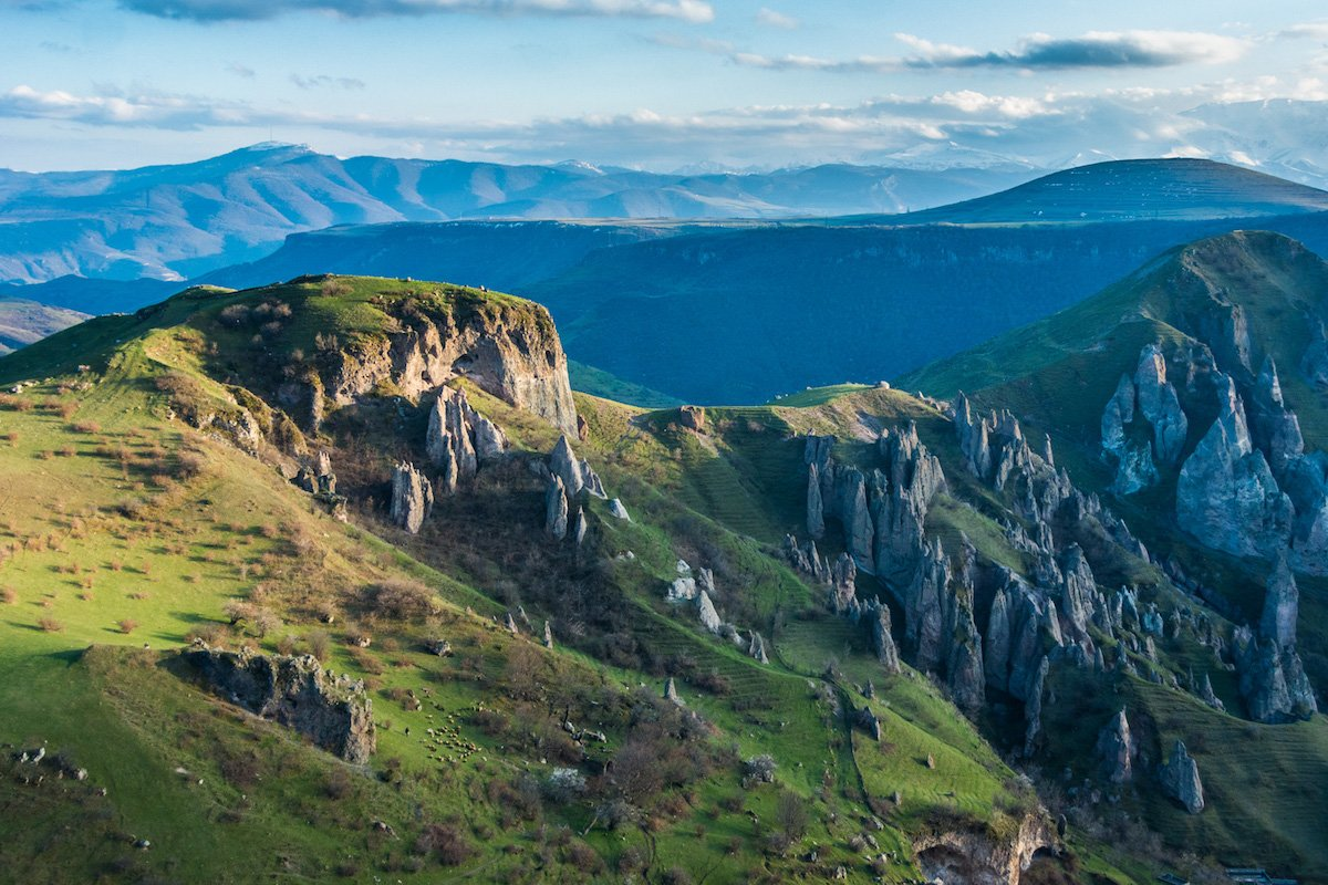 traverse goris mountain trails and stay in a cave home in armenia