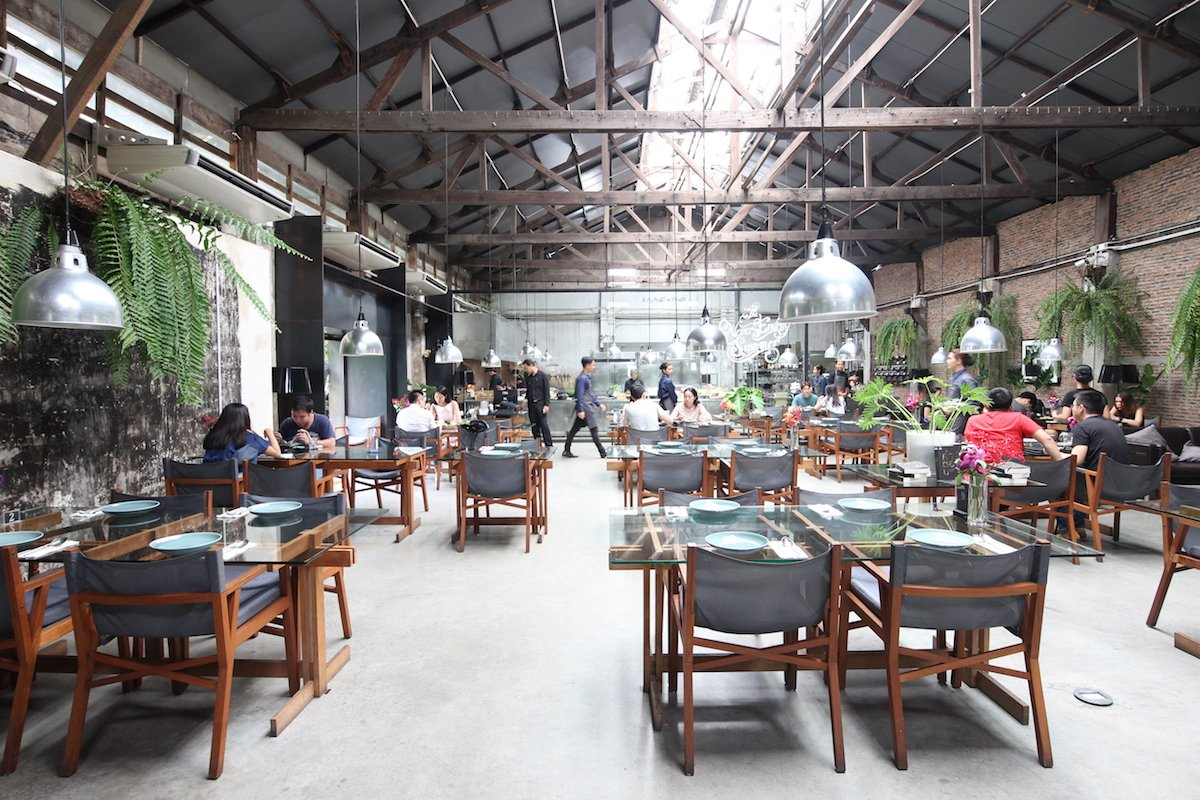 visit a thai architects edgy cluster of designer warehouses in bangkok thailand