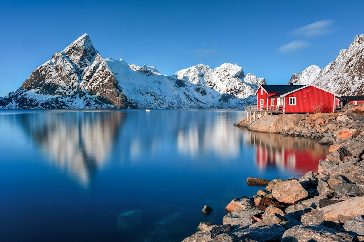 visit the chocolate box fishing villages of the lofoten islands norway