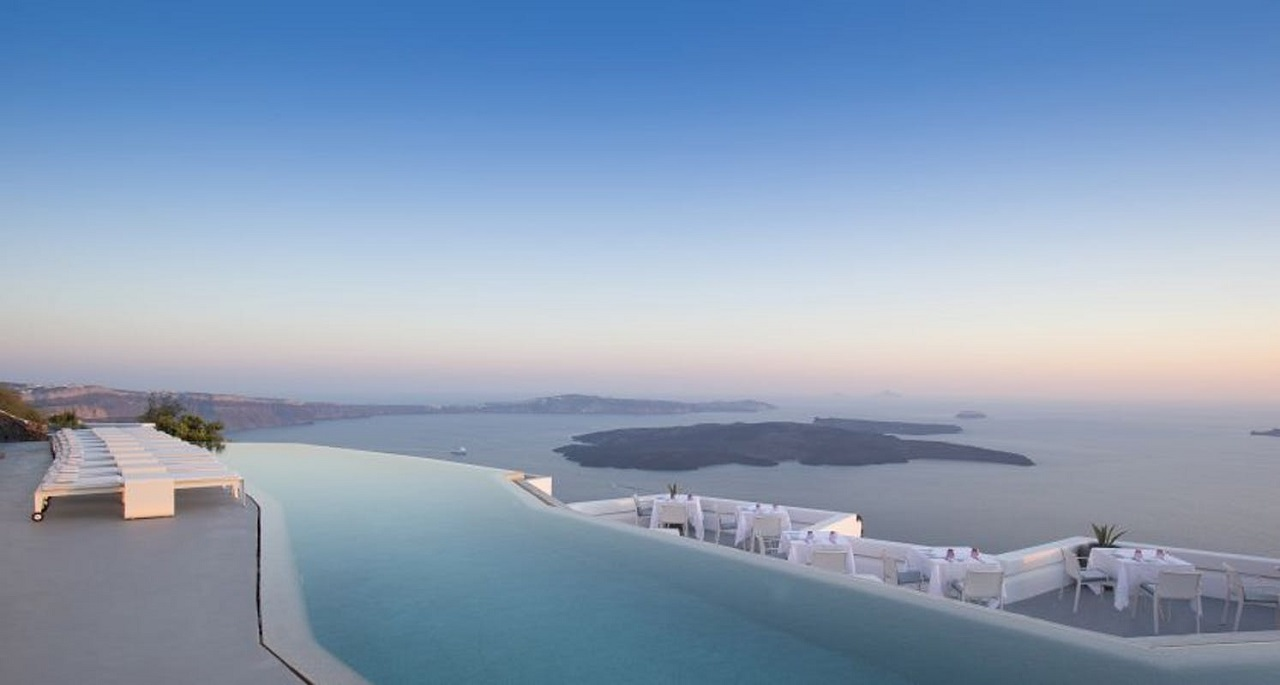 greece santorini grace pool