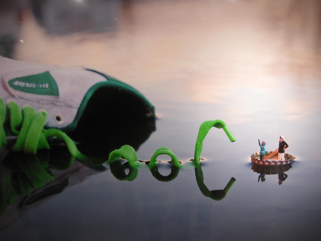 Slinkachu küçükinsanlar