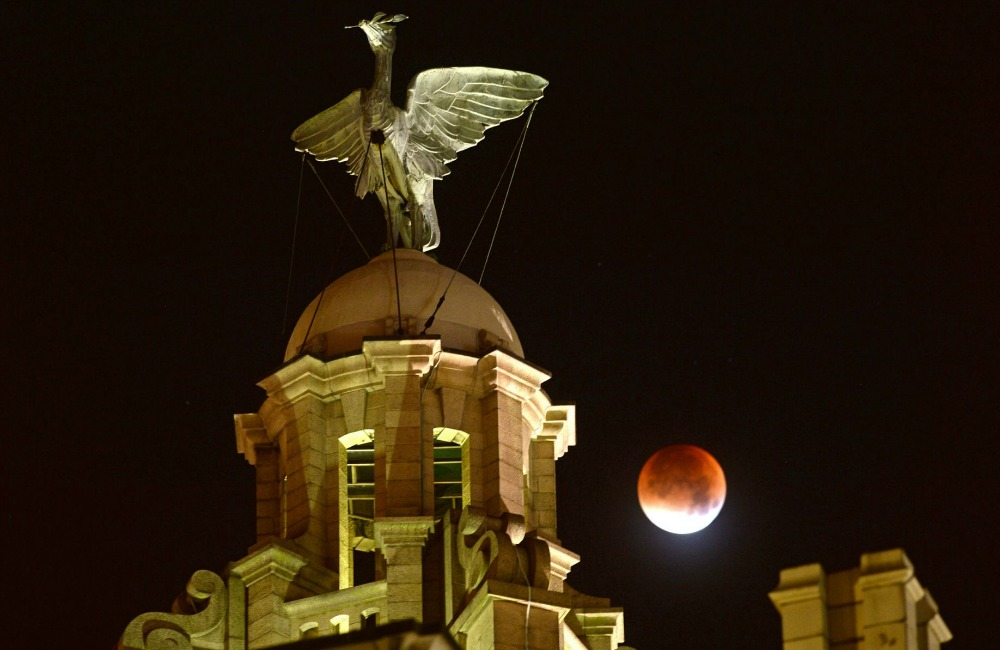 Supermoon Liverpool