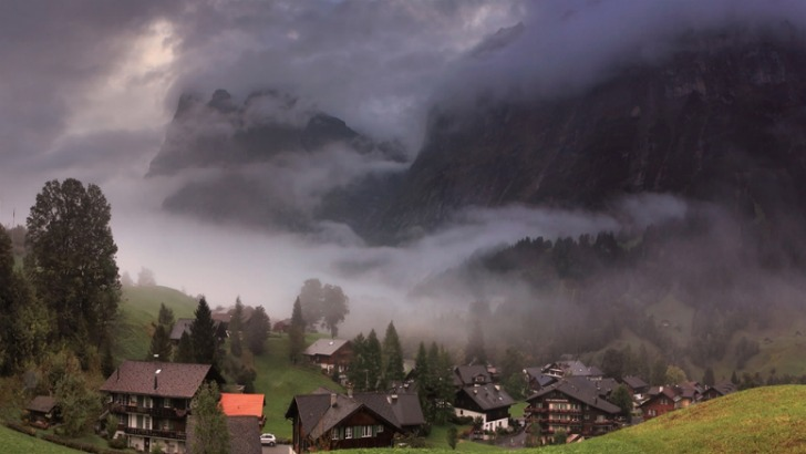 alps village of grindelwald switzerland photo by nikolay matveev