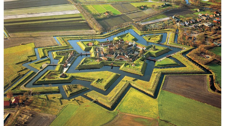 fort bourtange is a star fort located in the village of bourtange groningen netherlands photo by jan koster