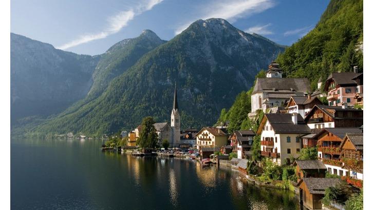 hallstatt upper austria is a village in the salzkammergut a region in austria with  inhabitants photo by unknown