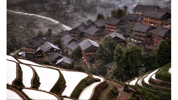 hidden mountain village in southern china photo by christian ortiz