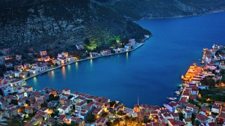 lovely village at kastellorizo island greece photo by hercules milas