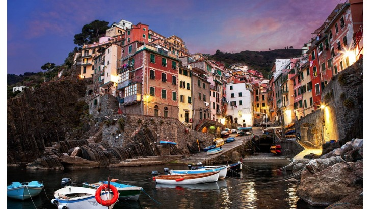 riomaggiore la spezia the liguria region of italy photo by james brandon