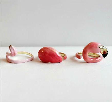 flamingo yüzük tasarımları