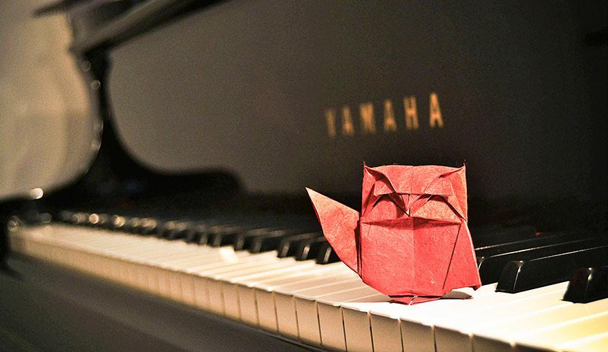 origami baykuş
