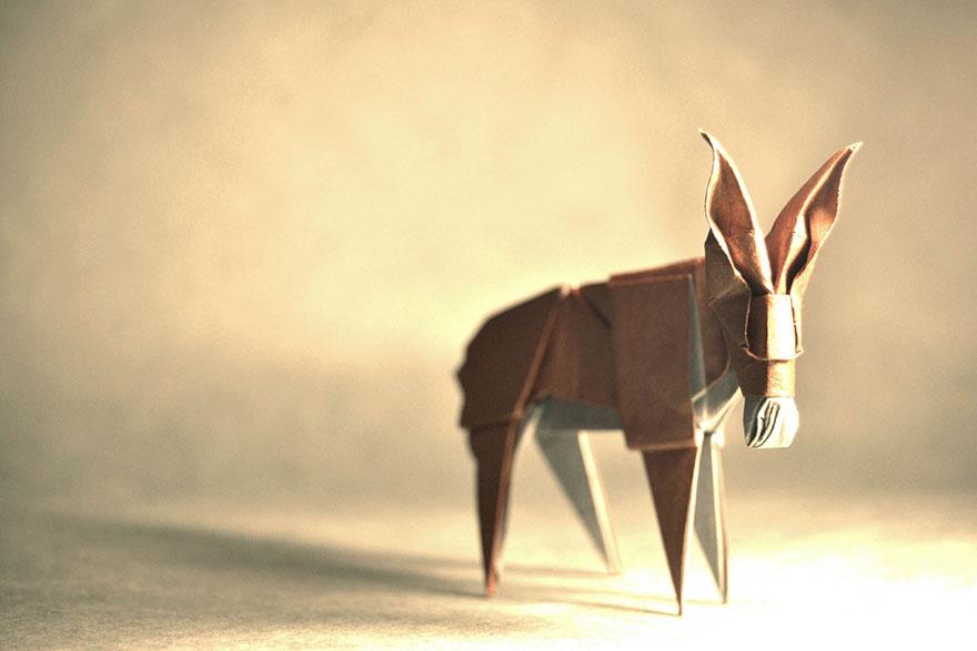 origami eşek