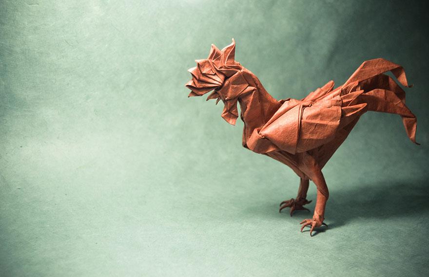 origami horoz