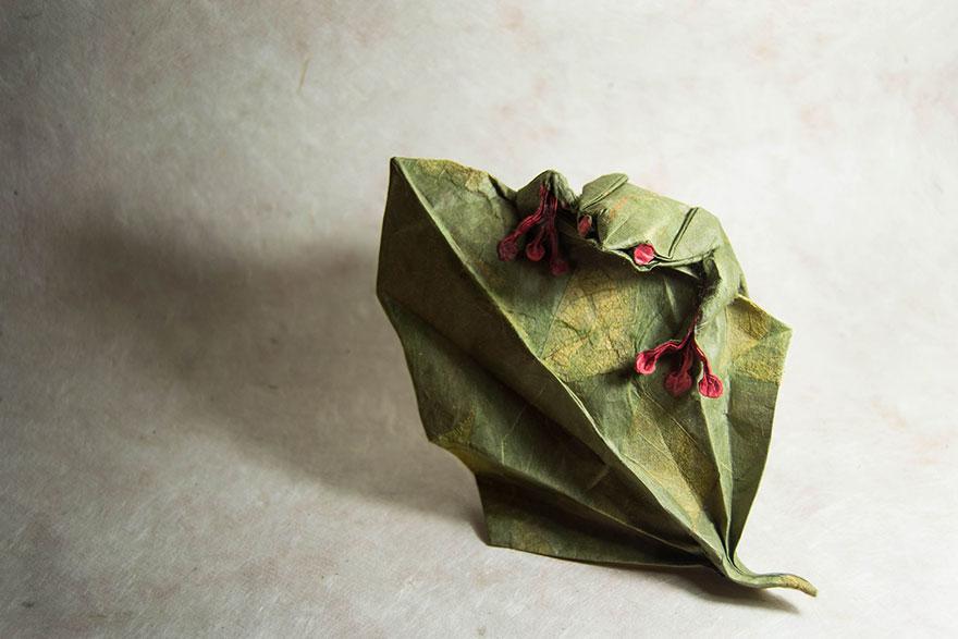 origami kurbağa