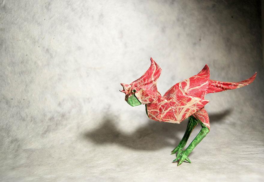origami tavuk