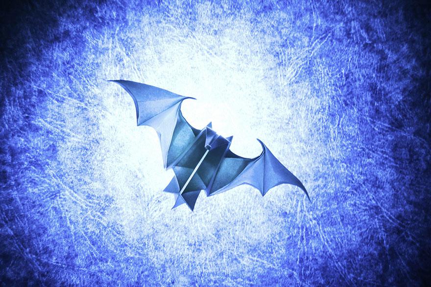 origami yarasa
