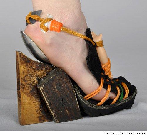 Topuklu ayakkabı: Giymesi cesaret isteyen 16 topuklu ayakkabı tasarımı