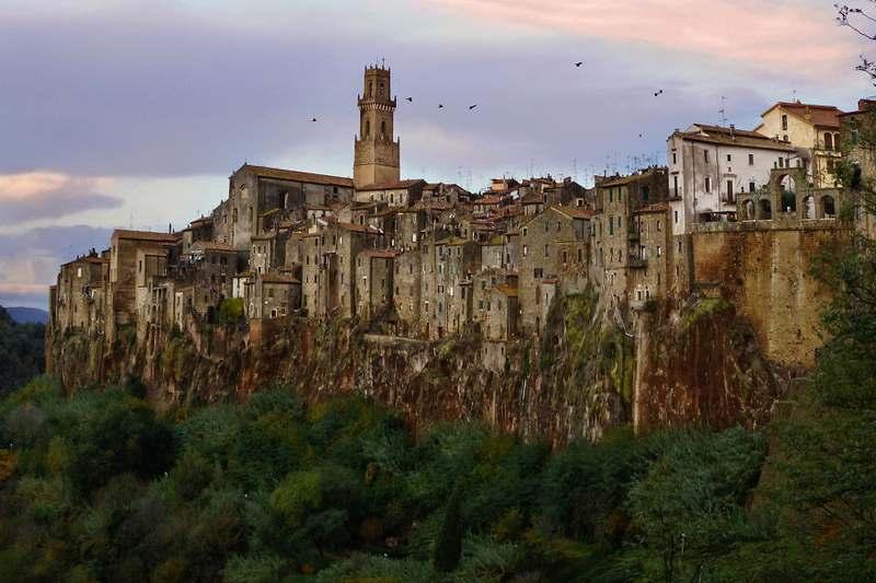 Pitigliano, Grosseto, İtalya