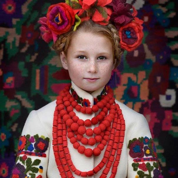 Ukrayna Slav baş süsü
