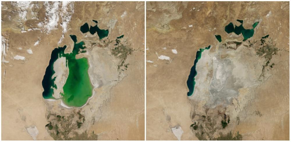 Aral Gölü, Orta Asya