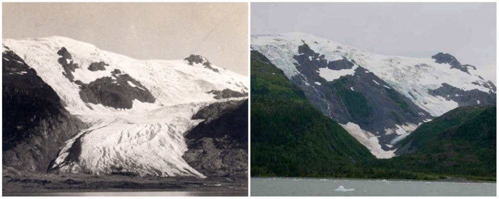 Toboggan Buzulu, Alaska