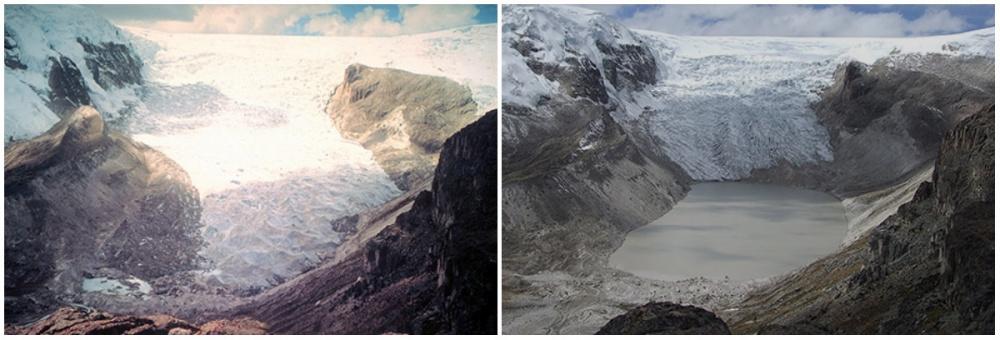 Qori Kalis Buzulu, Peru