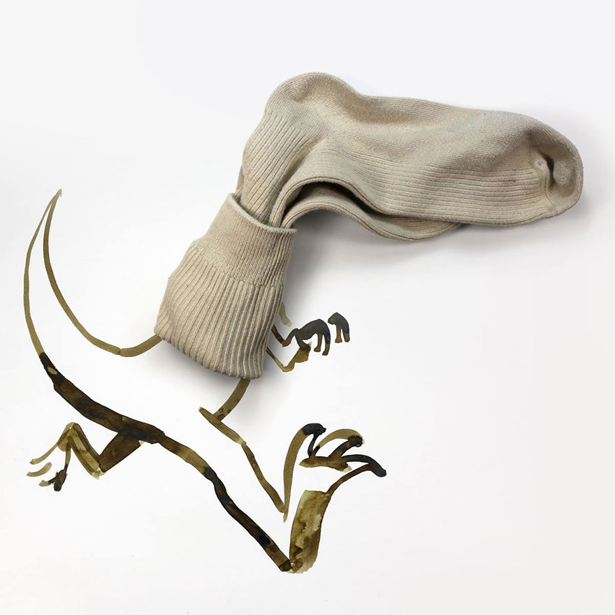 illüstrasyon çorap