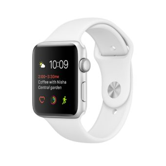 Apple Watch Series   mm Gumus Rengi Aluminyum Kas