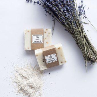 lavantalı doğal yüz sabunu - lovely clean - bade natural