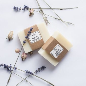 lavantalı & papatyalı doğal bebek sabunu - softly clean - bade natural