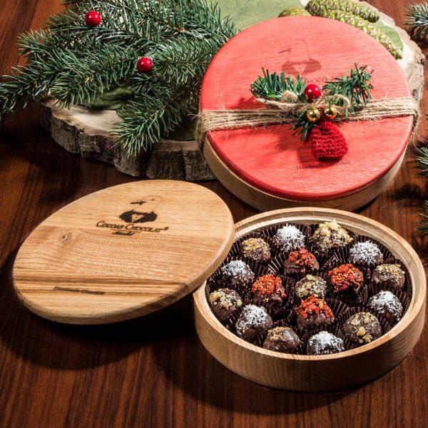 ahsap kutuda artisan truffles  gr