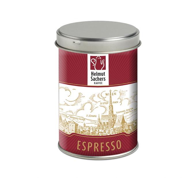 helmut sachers kaffee_espresso_125gr