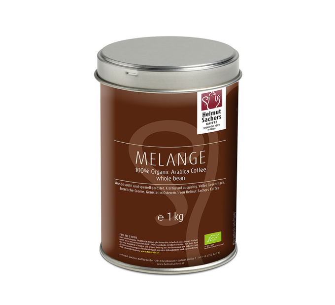 helmut sachers kaffee_bio_melange125gr