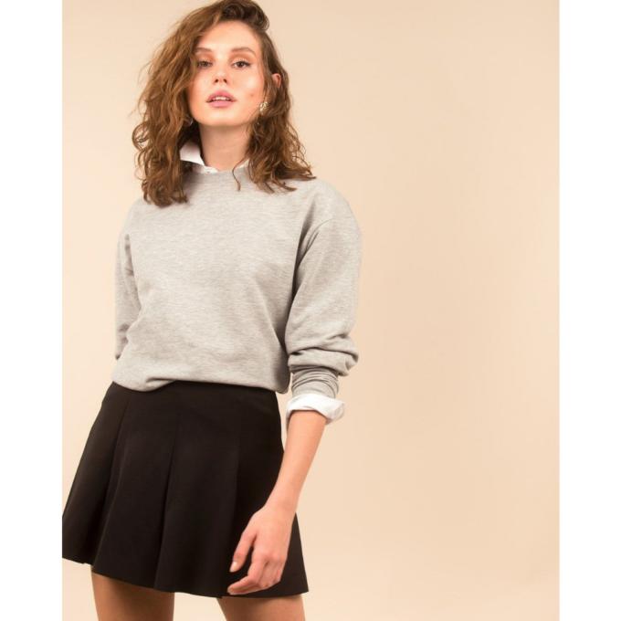 sweatshirt-kadin-sweatshirt-iamnotbasic-gri-melanj