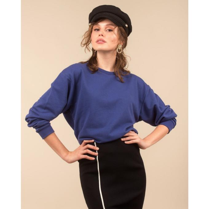 sweatshirt-kadin-sweatshirt-iamnotbasic-saks-mavisi
