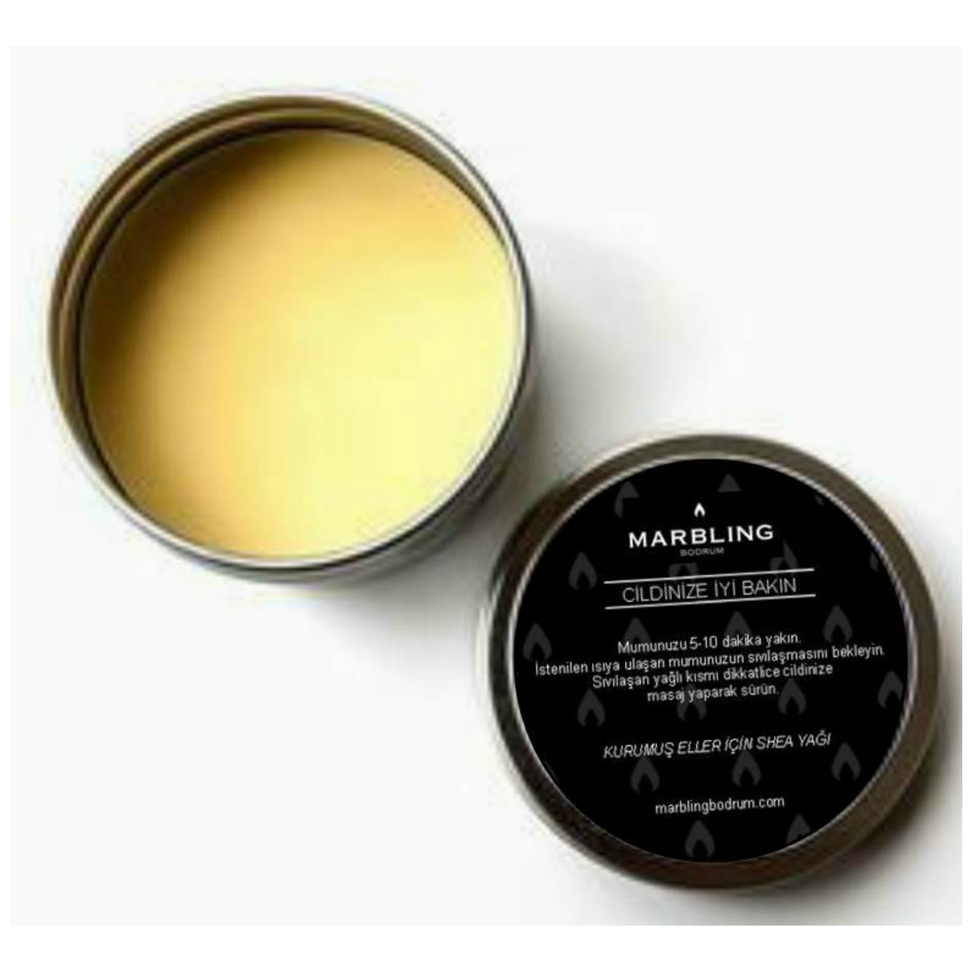 marbling shea butter