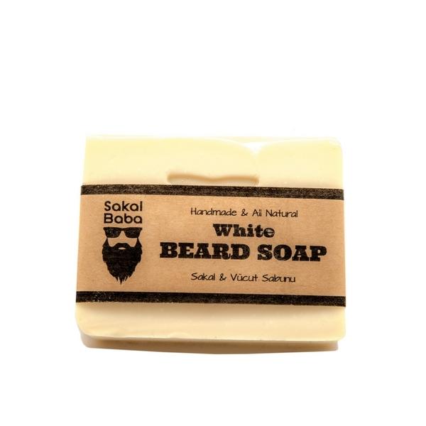 sakal sabunu beyaz