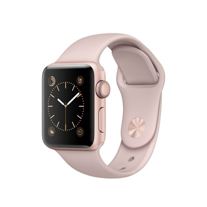 Apple Watch Series   mm Roze Altin Rengi Aluminyu
