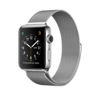 Apple Watch Series   mm Paslanmaz Celik Kasa Mila