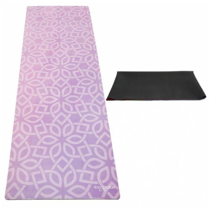 Floral Flow Travel Yoga Mat