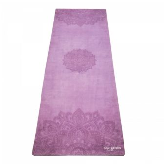 mandala purple combo yoga mat