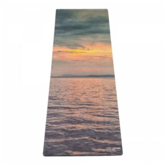 sunset combo yoga mat