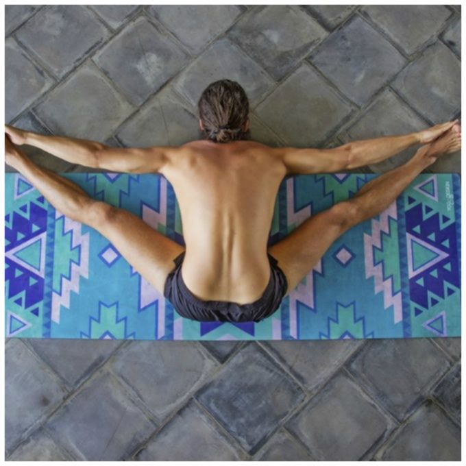 tribal blue combo yoga matc