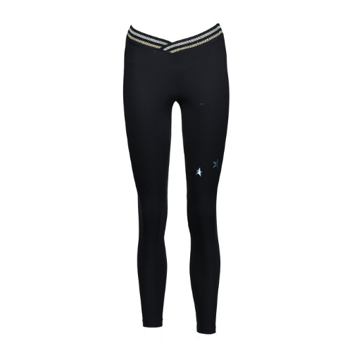 yorstruly glitz legging metallic black 3