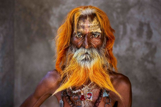 An elderly man of the Rabari tribe, Rajasthan, India, 2010