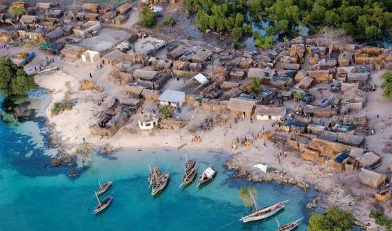 Afrika\'da bir köy